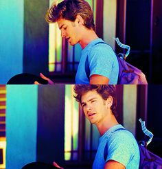 Andrew Garfield. do you want to marry me?? because I would be very happy marrying you..