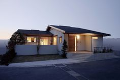 和と北欧の融合 平屋の家の建築事例写真