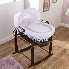 Found it at Wayfair.co.uk - Stars and Stripes Wicker Moses Basket