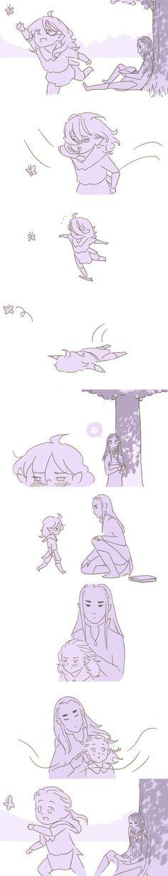 Legolas being clumsy by cos-tam