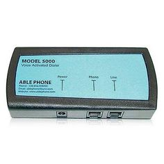 Other TV Video and Home Audio: Ablephone Ap-5000 Voice Activated Telephone Dialer W 60 Name Memory Capability -> BUY IT NOW ONLY: $197.96 on eBay!