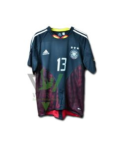 Germany national football team Die Mannschaft Away Adidas UEFA Euro 2004  Short sleeve Football Shirt Trikot Maglia Camiseta De Fútbol classic rare  retro ... 8c83b3d96