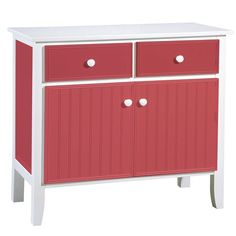 I pinned this Buffet Table in Cottage Red & White from the Colorful Cocina event at Joss and Main!