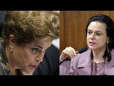 Dilma fica alterada ao estar frente a frente com Janaína Paschoal e a ch...