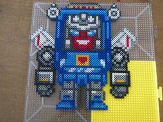 Tracks Transformers Perler Beads by PerlerPalace on deviantART