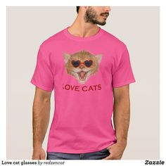 Find the right fit while staying in style with Cat t-shirts from Zazzle. Choose from an array of fantastic designs or create your own today! Shirt Designs, Glasses, Cats, Mens Tops, T Shirt, Style, Fashion, Eye Glasses, Gatos