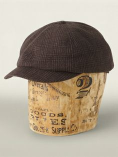 Plaid Newsboy Cap - RRL See All - RalphLauren.com. Randyrd · rrl denim men d01e56f0d3bb