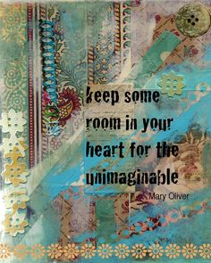 Room in Your Heart, Collage Art Print. $15.00, via Etsy.