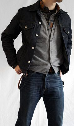 7a1a2d05d The classic jeans   sweater look never goes out of style. Here s an updated  version
