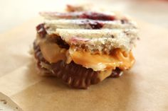 Peanut Butter Cup Panini Bites: these little dessert sandwiches also have a banana slice and more peanut butter inside them!