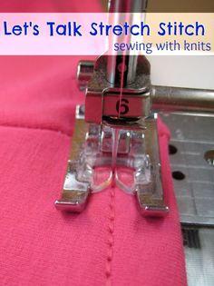 Stretch Stitch: Sewing Tip - The Sewing Loft