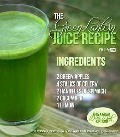 Perfect for detoxing.
