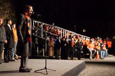 Princeton President Christopher L. Eisgruber. Photo by John Jameson.