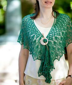 free knit shawl shrug pattern...