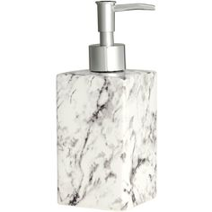 H&M Soap dispenser ($15) ❤ liked on Polyvore featuring home, bed & bath, bath, bath accessories and h&m