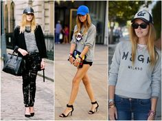 Chiara Ferragni of The Blonde Salad, Sports Luxe Street Style The Blonde Salad, Sport Chic, Sport Casual, Street Style Chic, New York Fashion Week Street Style, Athleisure Trend, Lady Like, Chic Outfits, Sport Outfits