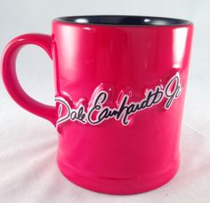 Collectable 2002 NASCAR Dale Earnhardt Jr 8 Red Ceramic Mug Coffee Cup Retired | eBay