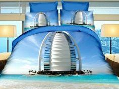 Pościel 3D 160 x 200 cm. Hotel W Dubaju-237-04