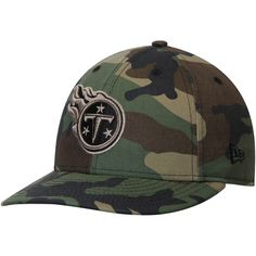 Tennessee Titans New Era Woodland Camo Low Profile 59FIFTY Fitted Hat - $27.99