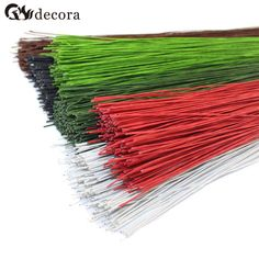 50 PCS 26 0.45 mm fio coberto de papel de alta qualidade para DIY / nylon flor acessório em Flores & coroas decorativas de Casa & jardim no AliExpress.com   Alibaba Group