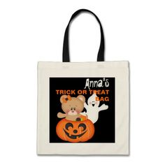 Personalized Custom Trick Or Treat Bag