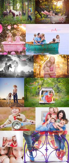 Great Photo Ideas....lovely collage!