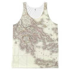 Grece ancienne - Ancient Greece All-Over Print Tank Top Tank Tops