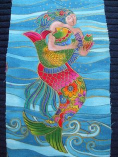 Laurel Burch Ocean Songs - One Mermaid