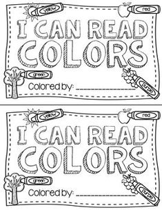A free printable color words book that kindergarten kids can color. Great to use… A free printable color words book that kindergarten kids can color. Great to use in guided reading groups or at the beginning of the year. Kindergarten Colors, Kindergarten Language Arts, Preschool Colors, Teaching Colors, Kindergarten Literacy, Preschool Ideas, Beginning Kindergarten, September Preschool, September Activities