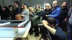 "Put Your Head into Gallery -  Tezi Gabunia - Installation ""Put Your Head into Gallery"" - Making of video"