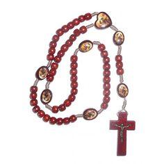 Chapelet en bois de Marie qui défait les noeuds