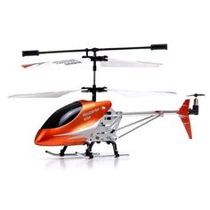 Gyro LED Metal Mini RC Helicopter 3Channel Infrared Remote Control Electric Indoor Heli 9098 * You can get additional details at the image link.Note:It is affiliate link to Amazon.