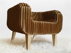 Cardboard Armchair (via #spinpicks)