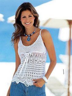 Free crochet patterns and video tutorials: crochet summer top tunics free pattern