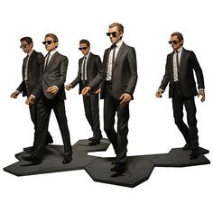 Set of Reservoir Dogs Action Figures from NECA. #actionfigures #movies
