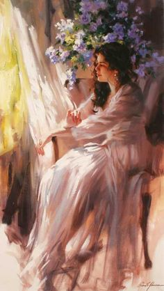 Richard S Johnson, Momentos compartidos, Pintor