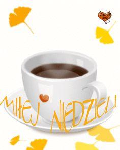 Gify i obrazki na dni tygodnia: Wierszyki i gify - niedziela Bad Memes, Good Morning, Ale, Tea Cups, Tableware, Facebook, Good Day, Buen Dia, Beer