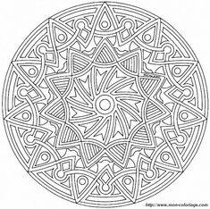 mandalas | Malvorlagen Mandalas, bild mandalas mandalas61a75 010