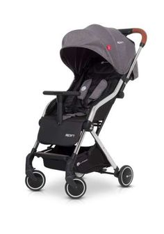 SPIN is Wonderful LIGHTWEIGHT Baby Stroller with a reversible handles aluminum frame that easily turn and Pack into a Travel Bag. Prams, Leather Handle, Spinning, Baby Strollers, Plush, Sporty, Children, Steel Structure, Gloves