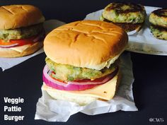 Cookingwithsapana: Mc Donald's Veggie Pattie Burger