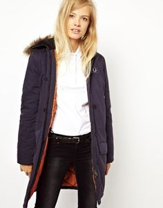 Image 1 ofFred Perry Snorkal Parka