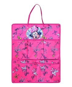 Look what I found on #zulily! Minnie Mouse Five-Pocket Hanging Organizer #zulilyfinds