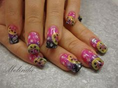 Cosmic nails by Melinda - Nail Art Gallery nailartgallery.nailsmag.com by Nails Magazine www.nailsmag.com #nailart