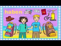 """Deutsch lernen: das Verb """"haben"""" Urlaub, Ferien und Reisen - Holidays, Traveling: Learn German - YouTube"""