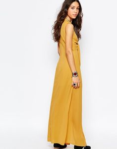 Image 2 of Wyldr Bow Front Maxi Dress