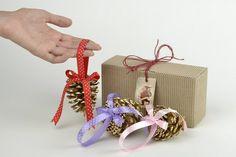 Christmas Tree Ornaments – Christmas tree ornaments Christmas gift ideas – a unique product by KseniyaRevta on DaWanda