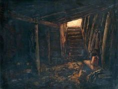Interior of a Dugout at Gavrelle