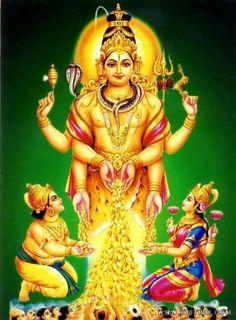 Load Shiva Blessing Kuberan (via Aanmeegachudar)