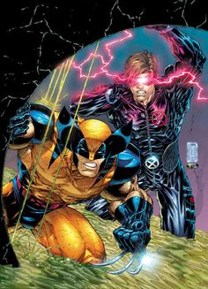 Cyclops and Wolverine