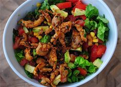 Chipotle Chicken Salad from The Scent of Oranges.